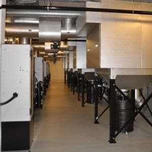 crematorium filter system