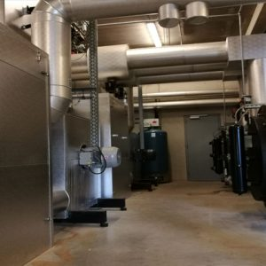 Cremation filter system Welkenraedt