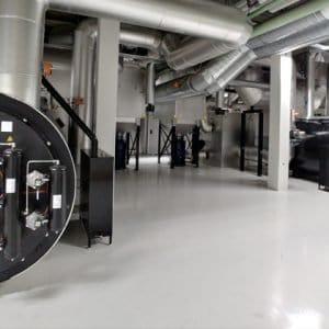 cremation filter system