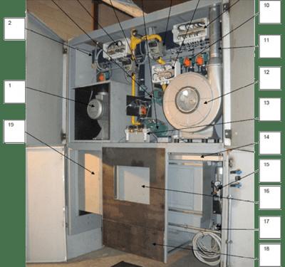 technische uitleg crematieoven