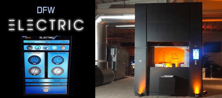 Elektrische crematieoven DFW Electric
