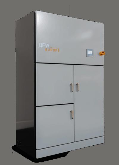 asmolen / cremulator DFW Electric asverwerking